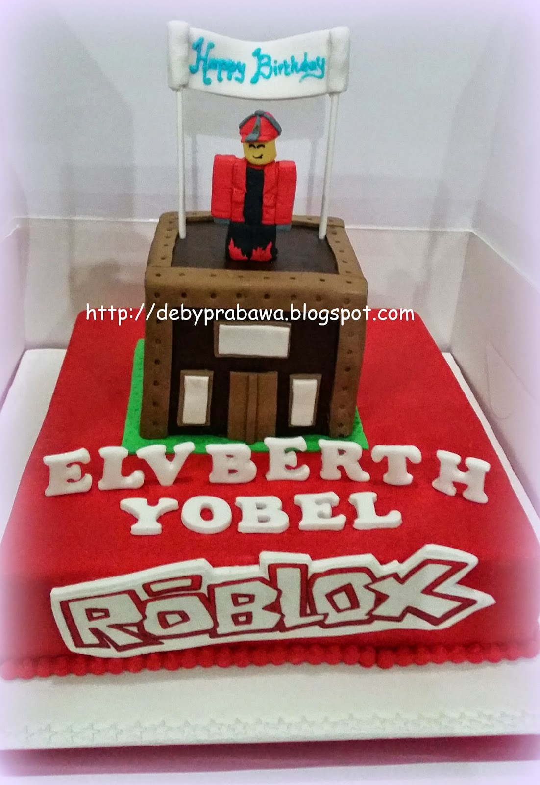 Butterfly Cake Roblox Cake