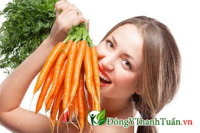 người đau dạ dày nên ăn carot