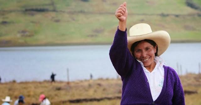 Indigenous Environmental Hero Maxima Acuña De Chaupe Wins Goldman Prize