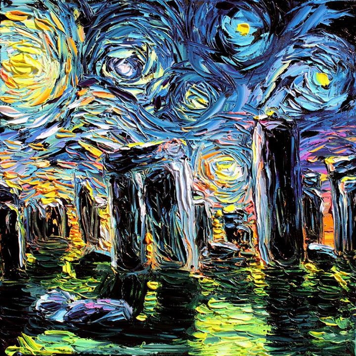 09-Stonehenge-Aja-Trier-Vincent-Van-Gogh-Paintings-and-a-Sprinkle-of-Pop-Culture-www-designstack-co