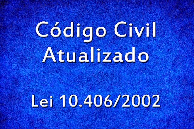 Código Civil Atualizado 2017