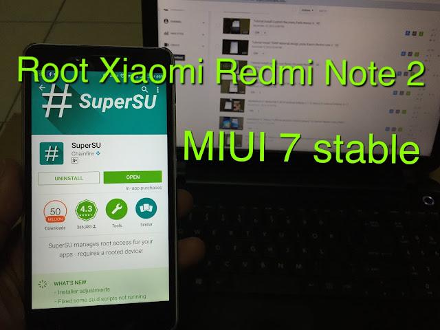 Kamu Sudah Coba Berkali-Kali Root Xiaomi Redmi Note 2 Tapi Tetap Saja Gagal? Coba Tutorial Jitu Ini