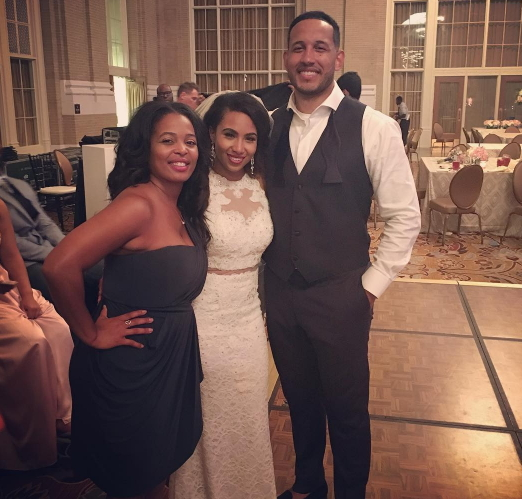kirk franklin daughter marries nigerian