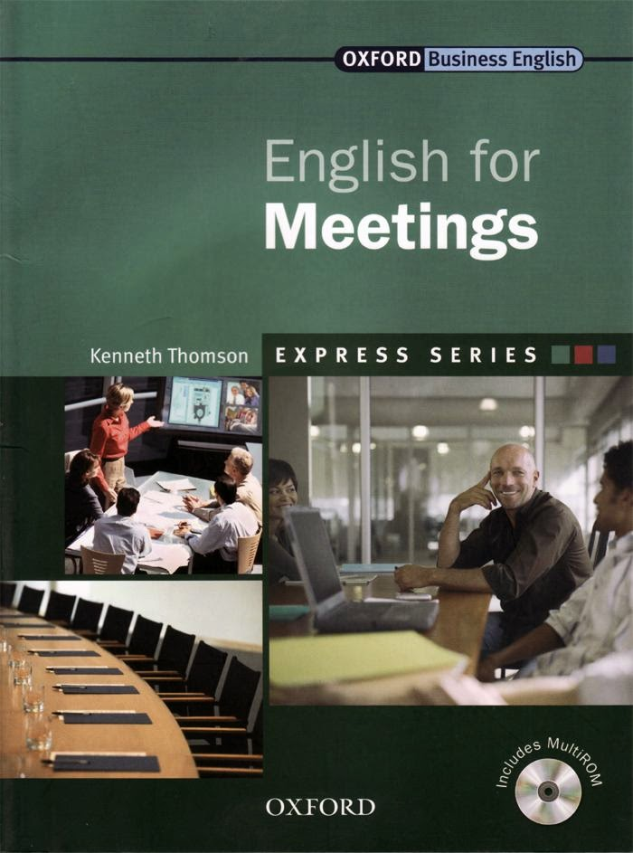 English for Meetings - Oxford Business English Book