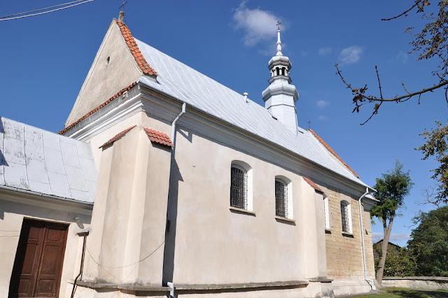 Późnoromański kościół pod wezwaniem Św. Trójcy w Zawichoście