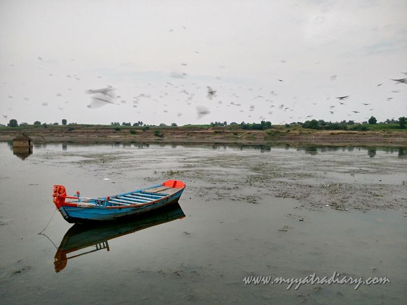 Still landscape in Pandarpur