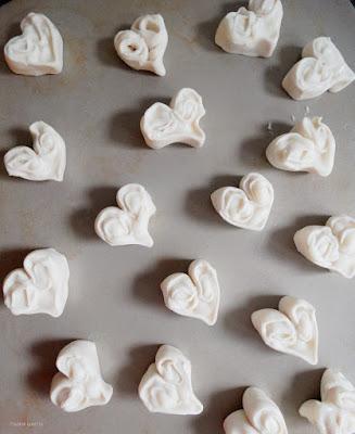 Pudding-Herzen