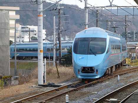 小田急ロマンスカーMSE60000形御殿場線試運転 連絡線
