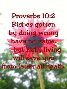 Proverbs 10:2