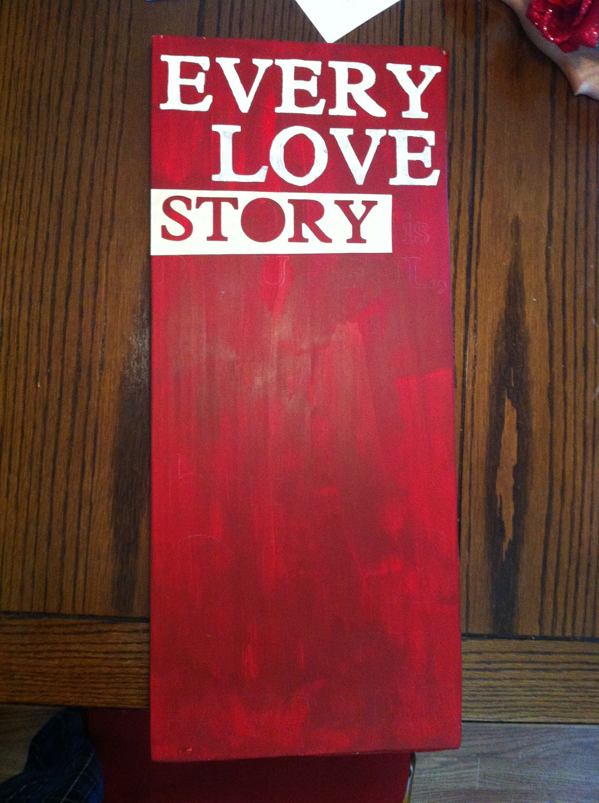 Simply Inspired Handmade Crafts Valentine S Day Wood Sign