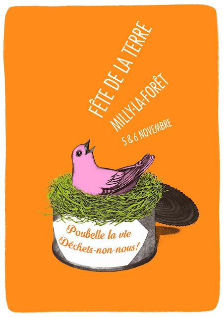 F�te de la Terre � Milly 5 et 6 novembre : � Poubelle la vie, d�chets-non-nous ! �