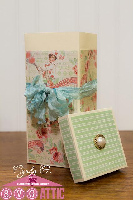 Tall gift box