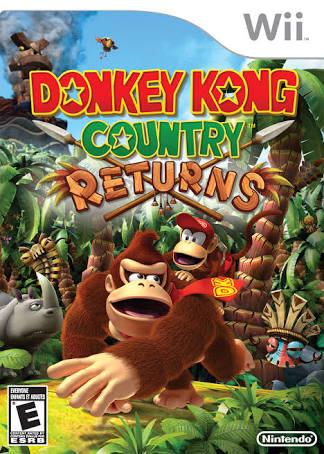 Juegos Para Wii 2018 Mega Wbfs Donkey Kong Country Returns Wii