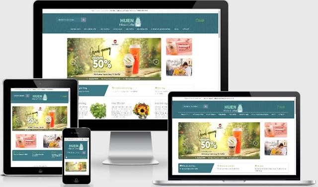Template blogspot bán hoa tuyệt đẹp (Chuẩn SEO)