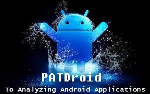 PATDroid Collection of Tools And Data Structures For Analyzing