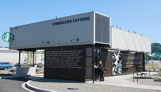 Desain restoran kontainer