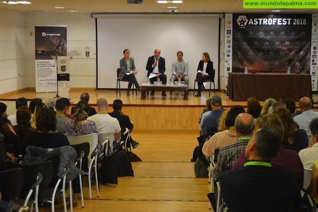 Inauguración del III Seminario Internacional de Astroturismo de La Palma