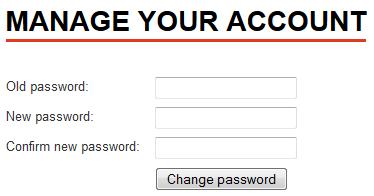 Wijzig je paswoord