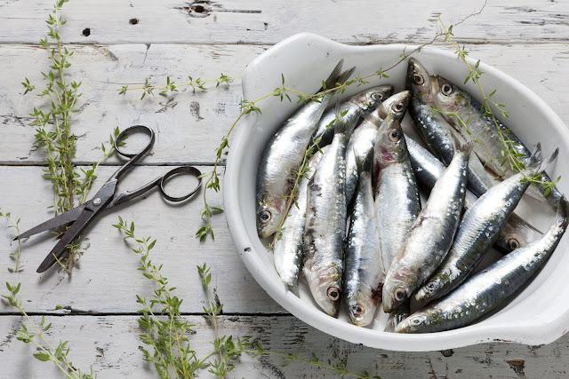 Cocina sin olor a pescado