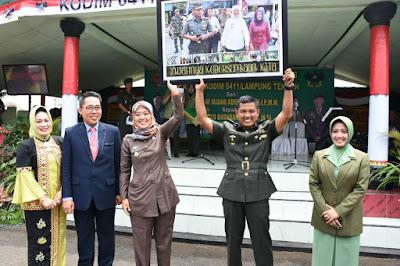 Bupati Lampung Timur Hadiri Ramah Tamah dan Sertijab Komandan Kodim 0411/Lampung Tengah