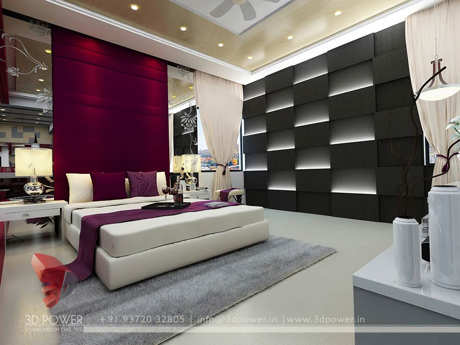 3D Bedroom Design 3D Interior Designs  Interior Designer Bedroom Designs