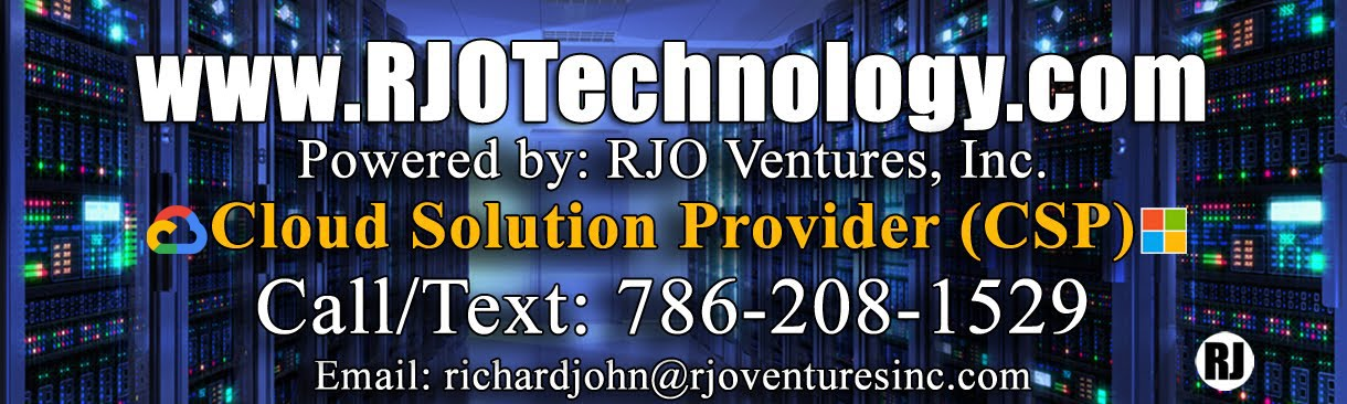 RJOTechnology.com - IT Services, Cloud Solution Provider, Azure Migration, Office 365, Dynamics 365