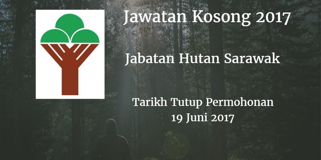 Jawatan Kosong Jabatan Hutan Sarawak 19 Juni 2017