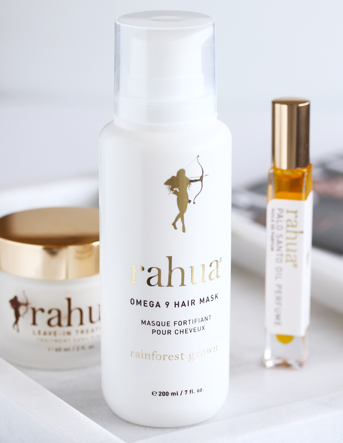 Rahua by Amazon Beauty, Rahua Review, Clean Haircare, Ethical Beauty, Eco Luxe Beauty,Rahua Leave-In Treatment, Rahua Palo Santo Oil Perfume