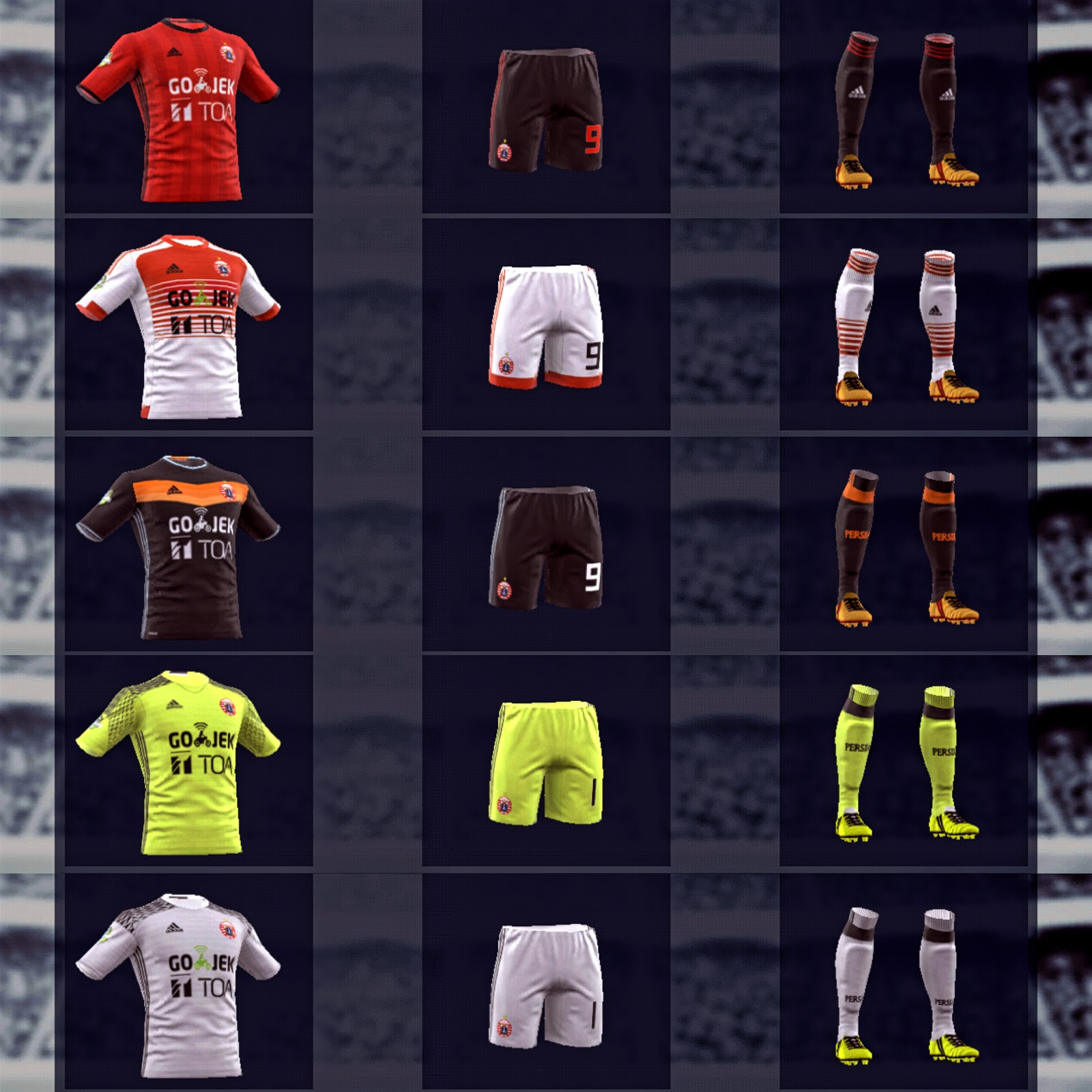 dream league soccer puma kits