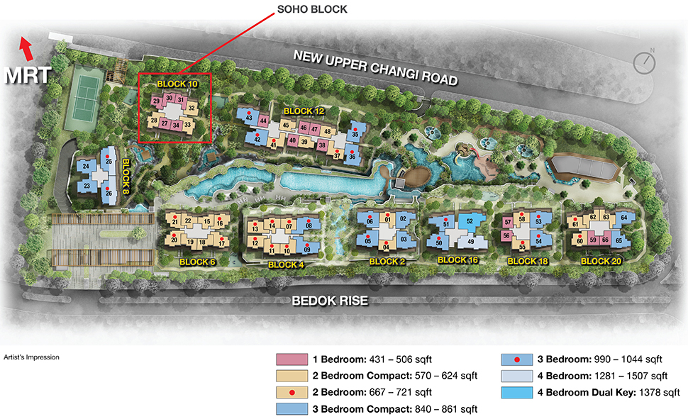 The Glades Siteplan