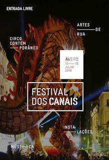 Programa Festival dos Canais 2018