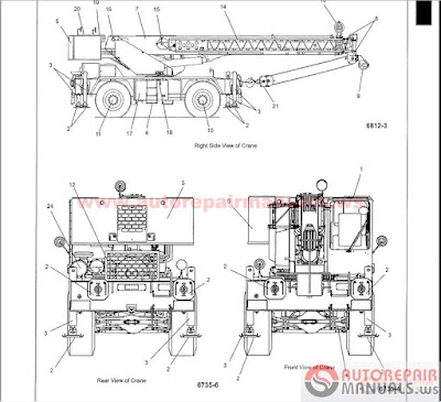 Grove Crane All Service Manual Training on wiring diagram of a mobile home
