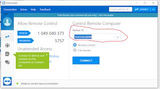 Cara  Menggunakan Teamviewer Untuk Remote  Android dari PC
