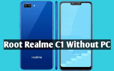 Cara Root Realme C1
