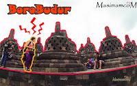 Borobudur - Bule Aja kesini, Masa Kita Kagak