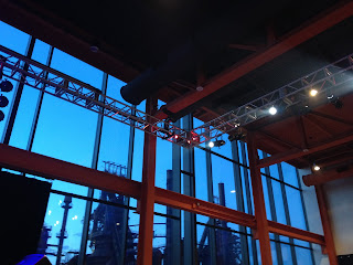 IN PERFORMANCE: ArtsQuest Center at SteelStacks in Bethlehem, Pennsylvania, where Herman's Hermits starring Peter Noone appeared in concert on 28 May 2015 [Photo from 2014 by the author]