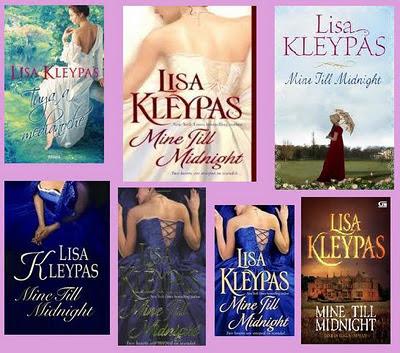 portadas del libro romántico histórico Tuya a medianoche, de Lisa Kleypas