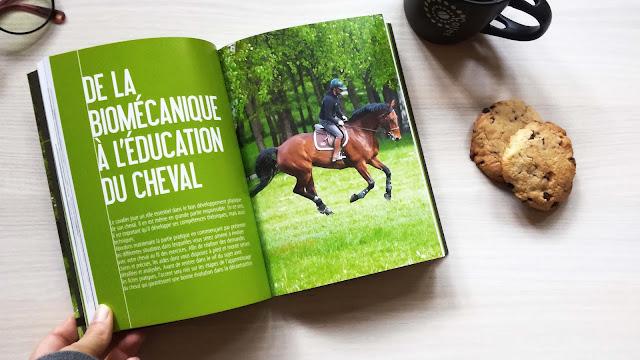 Photo de la double-page présentant la deuxième partie du livre