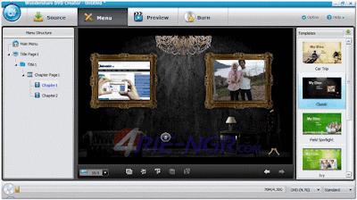 Wondershare DVD Creator 4.0.0.16 Full Version