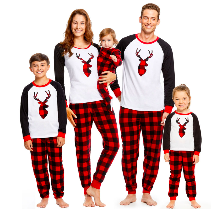 10 Cute Matching Holiday Pajamas for the Whole Family  082b09928