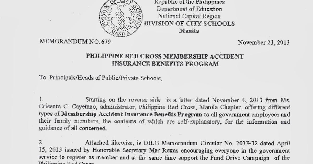 Department of Education Manila: Division Memorandum No  679
