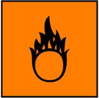 Simbol Bahan Kimia Mudah Teroksidasi