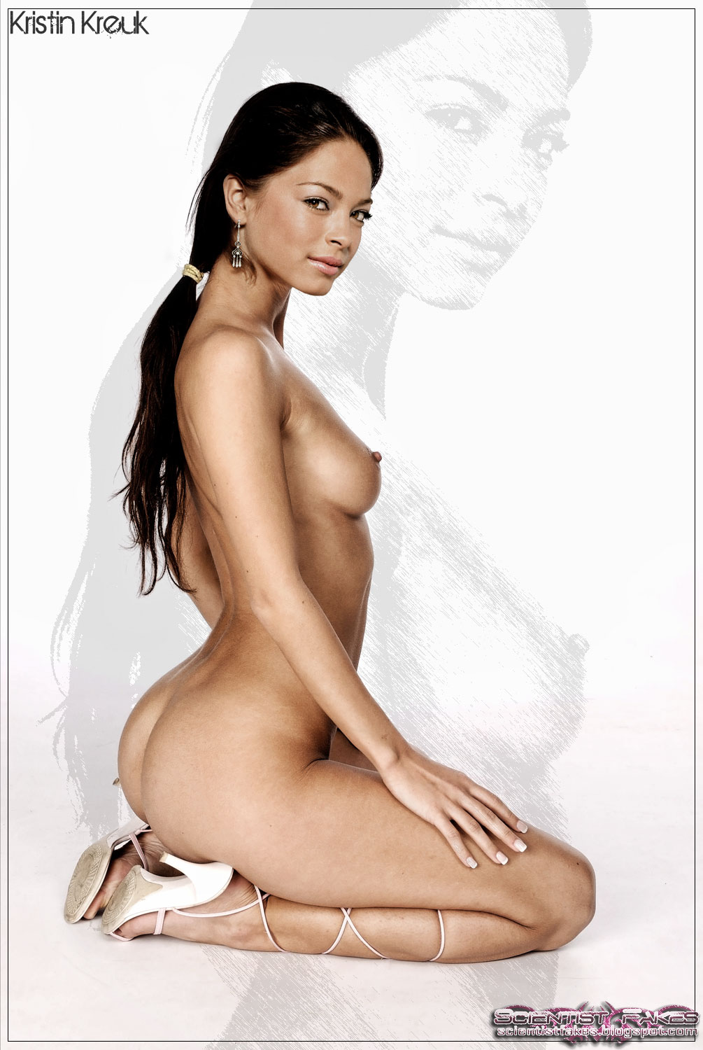 Nude kristin kreuk bent over 15