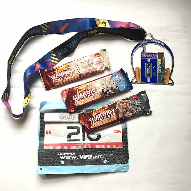 PowerBar Clean Whey Protein Bar Chocolate Chip Cookie Dough White Fudge Raspberry Cookies And Cream Nutrition Portable Product Review running racing weight lifting virtual race