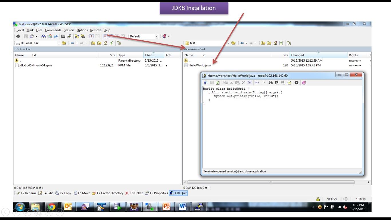 Java ee java tutorial jdk8 installation linux operating system java tutorial jdk8 installation linux operating system baditri Gallery