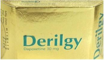 دواء درلجي Derilgy مضاد الاكتئاب, لـ علاج, سرعة القذف المرتبط باضطرابات القلق والتوتر والاكتئاب, القذف المبكر, السيطرة على القذف, ضعف الانتصاب, القلق والتوتر الجنسي.