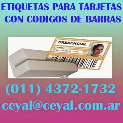 Balvanera Argentina Etiqueta Ribbon tlp2844