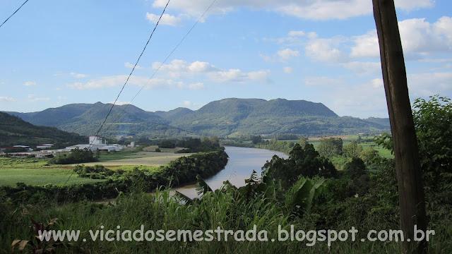 Vista do Rio Taquari