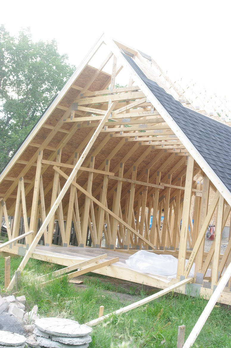 Room In Attic Truss Design: Thousand Square Feet: Owner Building A Home