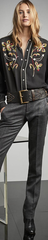 Ralph Lauren Walker Herringbone Pant